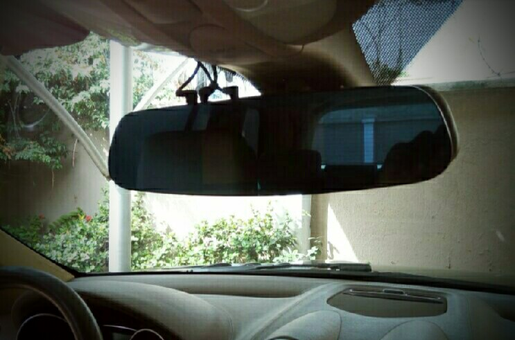Android Rear Mirror With Navigator, Front And Rear Cam