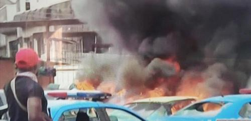 FRSC,VIO Offices Set On Fire